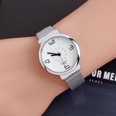 레티 여성 메탈 손목시계(화이트)