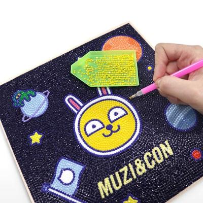 DIY 보석십자수 카카오 프렌즈 우주모험 25x25 3종
