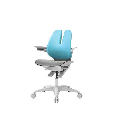 듀오백 래빗 070M 에어로 아동의자 메쉬좌판 회전봉