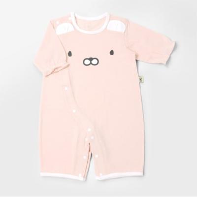 [메르베] 토리 신생아 7부 실내우주복_여름용