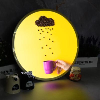 no488-LED액자45R_커피가내리는날씨
