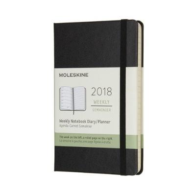몰스킨 2018위클리/블랙 하드 P