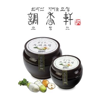 [조향헌] 청정제주 전통방식 무,배 조청 1kg