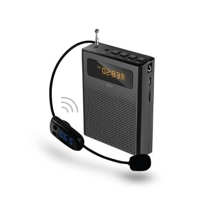 휴대용 유무선 마이크 스피커 라디오 (블랙) LCWW505