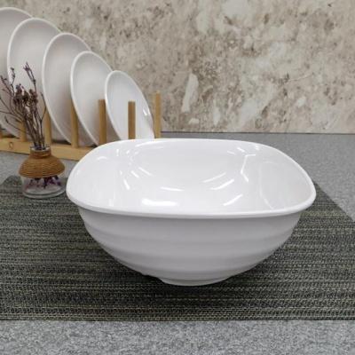 멜라민수지 대형 도자기 찬기 라면 그릇 대접 9볼