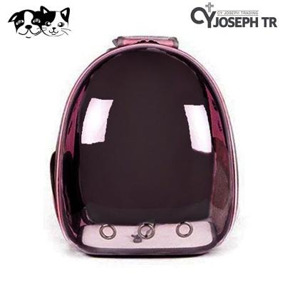 CY요셉 투명 우주선 가방 (핑크) (CY004)