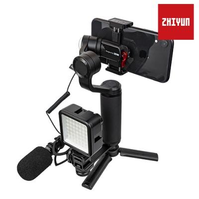 [ZHIYUN] 스무스Q2 마이크 LED 퍼펙트 세트