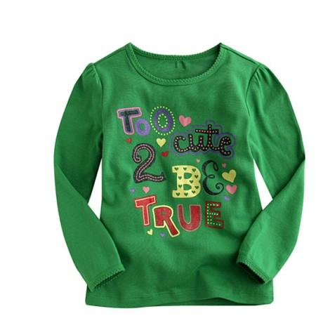TOO CUTE 그래픽 티셔츠 200217(12개월-5세)