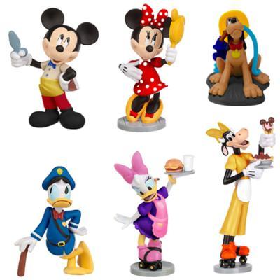 [디즈니 피규어] 미키마우스와 친구들 SET (6PCS)