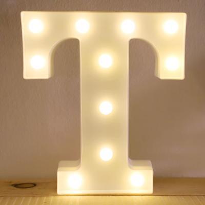 LED 앵두전구 조명등 알파벳 T