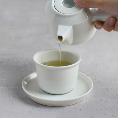 킨토 LT 컵&소서(화이트) 160ml