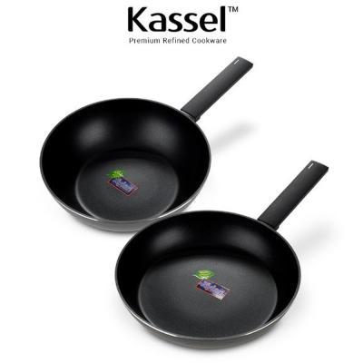 Kassel 루반 IH 프리미엄 후라이팬/궁중팬 2종세트