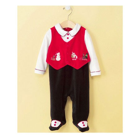 Baby Boys Vest Coveralls, Dress Velour820109(6-9개월)