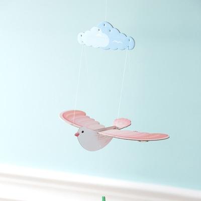 [버드힐링모빌 시즌2] 날갯짓하는 새모빌 분홍새