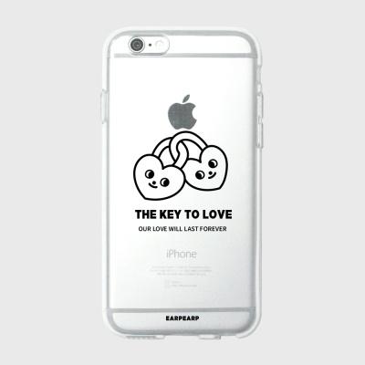 [어프어프] 젤리케이스 Love key