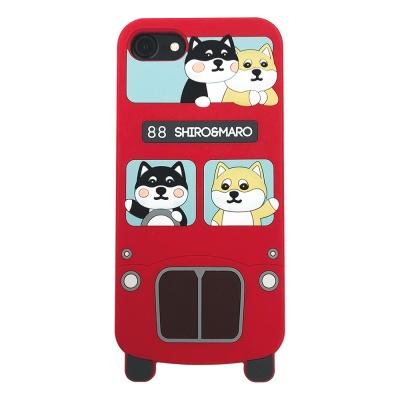 시로앤마로 버스실리콘 케이스 - 런던버스 시바
