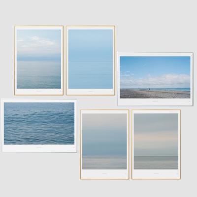 인테리어액자 바다 시리즈 6종 (A3 Print+액자)