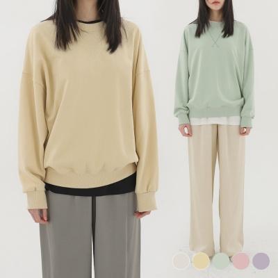 (WOMAN) 에센셜 스웨트셔츠 5COLOR