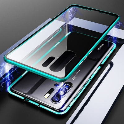 갤럭시노트10/플러스/노트9/강화유리 마그네틱 풀커버
