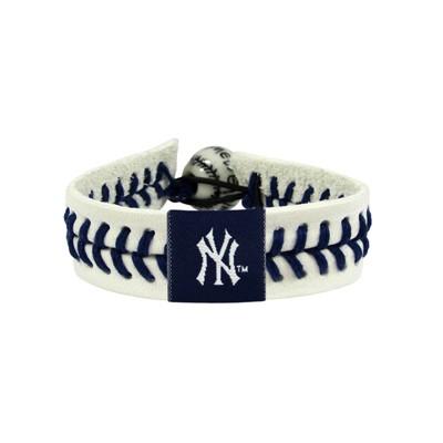 New York Yankees Genuine Baseball Bracelet