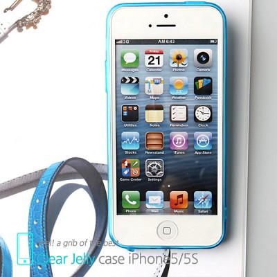 마주로 애플 아이폰5/5S/SE 초슬림 클리어 젤리케이스 MAJURO Clear Jelly Case Apple iPhone5/5S/SE