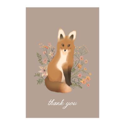 왈가닥스 메세지 포스트카드 엽서 - fox