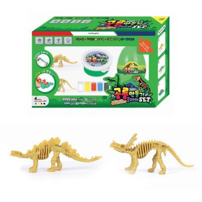 7000 공룡만들기 클레이 그린SET