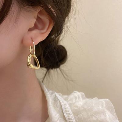 블리몽 삼각 골드 레이어드 925 귀걸이