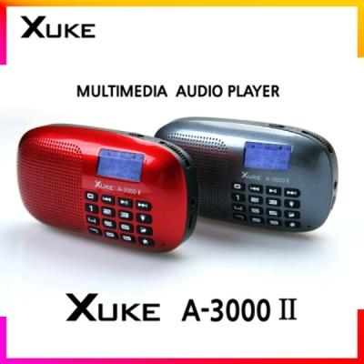 동양전자 XUKE-A3000 II (FM라디오/LED조명/듀얼코일스피커/가사지원)