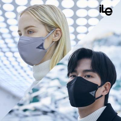 iLe 아이엘이 친환경 재사용 항균99.9%  쿼드 마스크