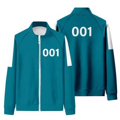 오징어 츄리닝 할로윈 코스튬 코스프레 옷 의상 복장