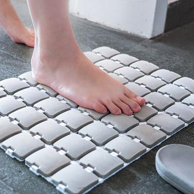페블 규조토 바닥 욕실 화장실 발매트 발판