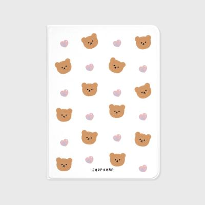 Dot love and bear-white(아이패드-커버)