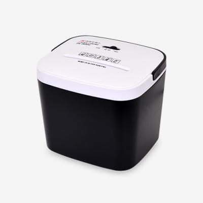 [현대오피스] 탁상용 세단기PK-302CC 블랙 송장세단
