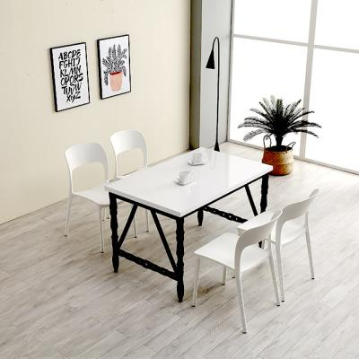 M62612 1400 스틸 사출 카페 테이블