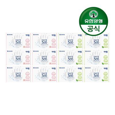 [유한양행]해피홈 비누 핑크포레+그린샤워 각 6개