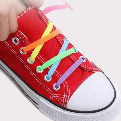 실리콘 신발끈 풀리지않는 무매듭 운동화끈