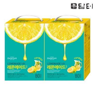 담터 레몬에이드 믹스 160T (80T 2개)