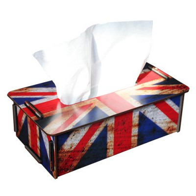 Tissue case union jack