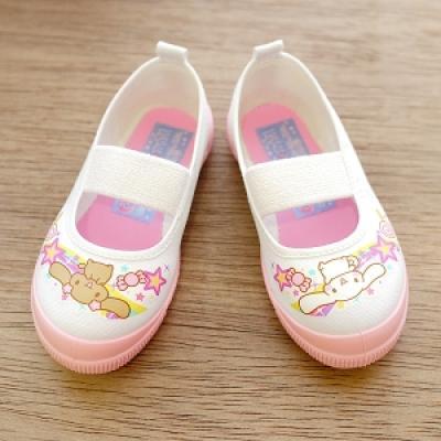 아사히 실내화 (시나모롤) - 핑크