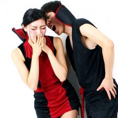 뱀파이어 커플 코스튬 (할로윈 성인 의상)