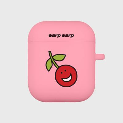 Smile cherry-pink(Air Pods)