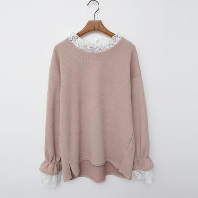 Spring Lace Boxy Tee