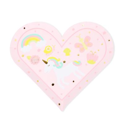 꿈꾸는 숲속 요정 핑크 파티 트레이 (2개)