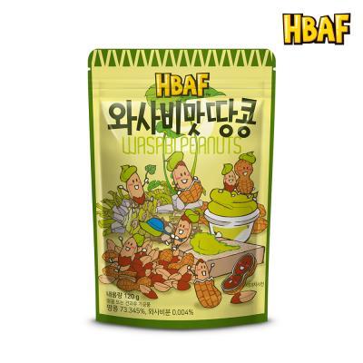[길림양행] 와사비맛 땅콩 120g