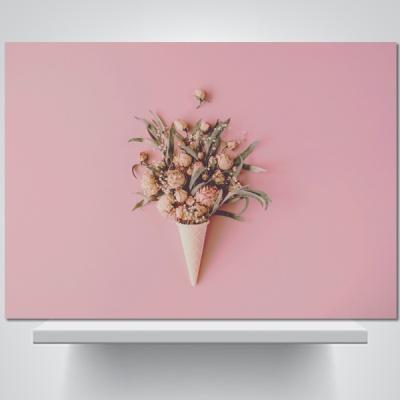 아이스크림 꽃2 - 감성사진 폼보드 액자