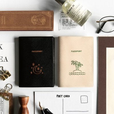 트래블러 여권 케이스 - MOONLIGHT