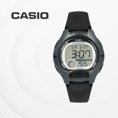 카시오 남자 여자 아동 어린이 손목시계 LW-200-1B
