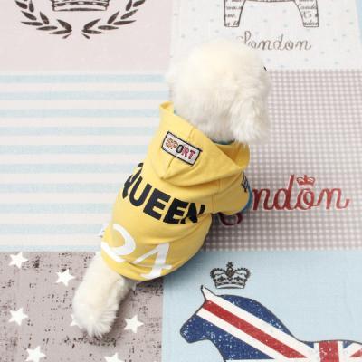 [펫딘]퀸 레이어드 시보리 강아지옷 후드