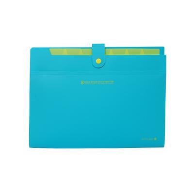 4200 8분류 간편 도큐멘트화일(블루)